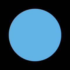 Large Blue Circle openmoji emoji