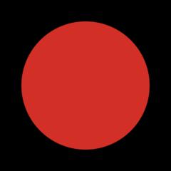 Large Red Circle openmoji emoji