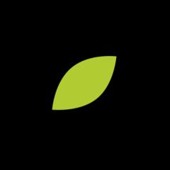 Leaf Fluttering In Wind openmoji emoji