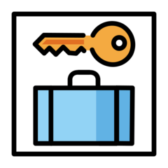 Left Luggage openmoji emoji