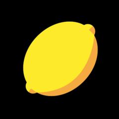 Lemon openmoji emoji