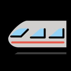 Light Rail openmoji emoji
