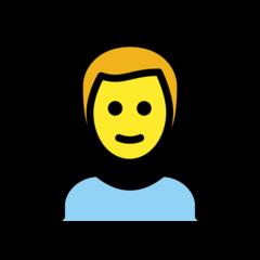 Man openmoji emoji