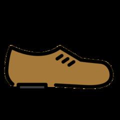 Mans Shoe openmoji emoji