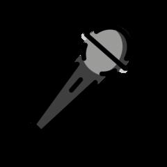 Microphone openmoji emoji