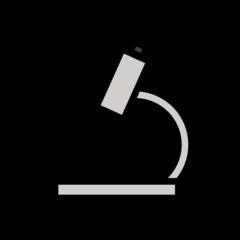 Microscope openmoji emoji