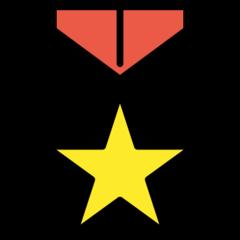 Military Medal openmoji emoji