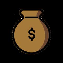 Money Bag openmoji emoji