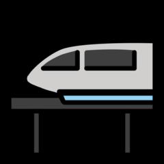 Monorail openmoji emoji