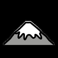 Mount Fuji openmoji emoji