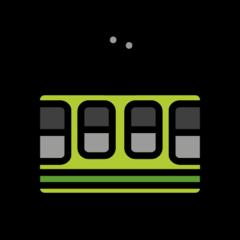 Mountain Cableway openmoji emoji
