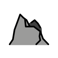 Mountain openmoji emoji