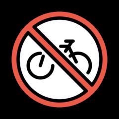 No Bicycles openmoji emoji