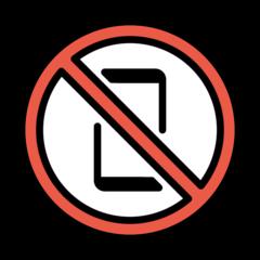 No Mobile Phones openmoji emoji