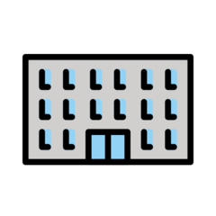 Office Building openmoji emoji