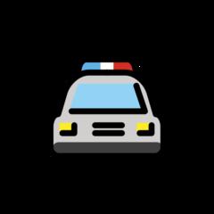 Oncoming Police Car openmoji emoji