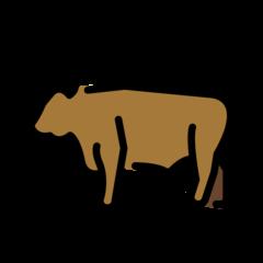 Ox openmoji emoji