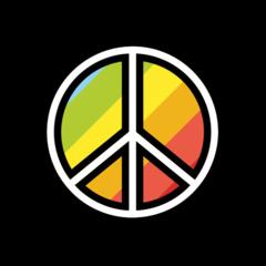 Peace Symbol openmoji emoji