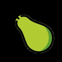 Pear openmoji emoji
