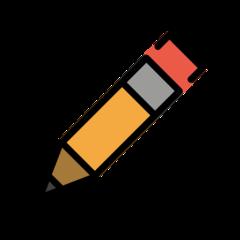 Pencil openmoji emoji