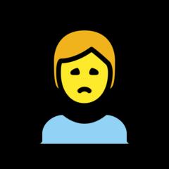 Person Frowning openmoji emoji