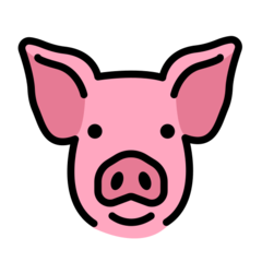 Pig Face openmoji emoji