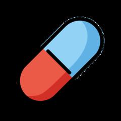 Pill openmoji emoji