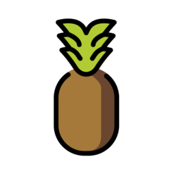 Pineapple openmoji emoji