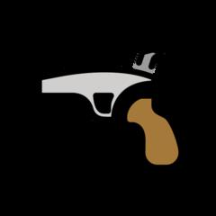 Pistol openmoji emoji