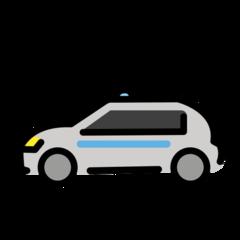 Police Car openmoji emoji
