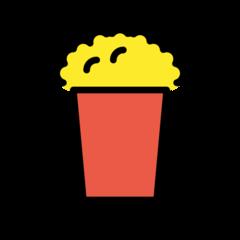 Popcorn openmoji emoji