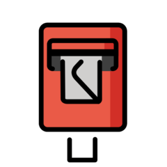 Postbox openmoji emoji