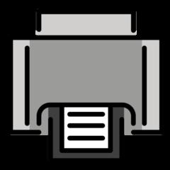 Printer openmoji emoji