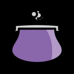 Purse openmoji emoji