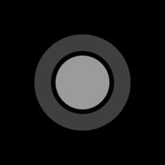 Radio Button openmoji emoji