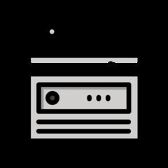 Radio openmoji emoji