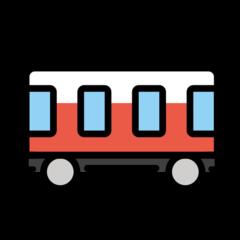 Railway Car openmoji emoji