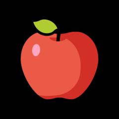 Red Apple openmoji emoji