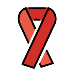 Reminder Ribbon openmoji emoji