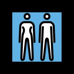 Restroom openmoji emoji