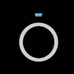 Ring openmoji emoji