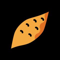 Roasted Sweet Potato openmoji emoji