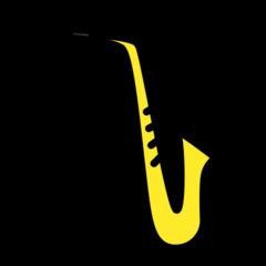 Saxophone openmoji emoji