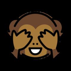 See-no-evil Monkey openmoji emoji