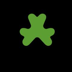 Shamrock openmoji emoji