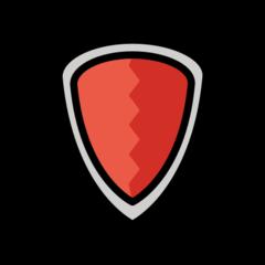 Shield openmoji emoji