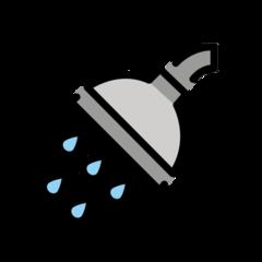 Shower openmoji emoji