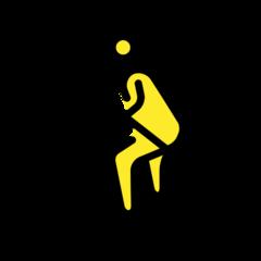 Skier openmoji emoji