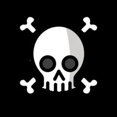 Skull And Crossbones openmoji emoji