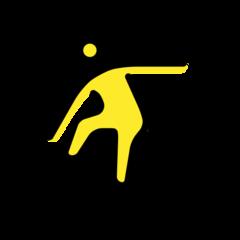 Snowboarder openmoji emoji